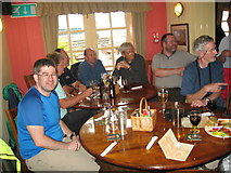 SU4208 : Eve of AGM 2014 Geographers in Hythe 10-Hants by Martin Richard Phelan