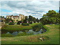 TQ4745 : Moat at Hever Castle by Malc McDonald