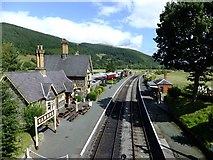 SJ1143 : Carrog station by Richard Hoare