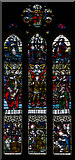 SO7137 : Stained glass window, St Michael's church, Ledbury by Julian P Guffogg