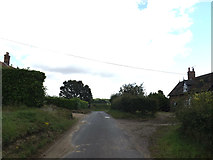 TM3193 : Low Road, Hedenham by Adrian Cable