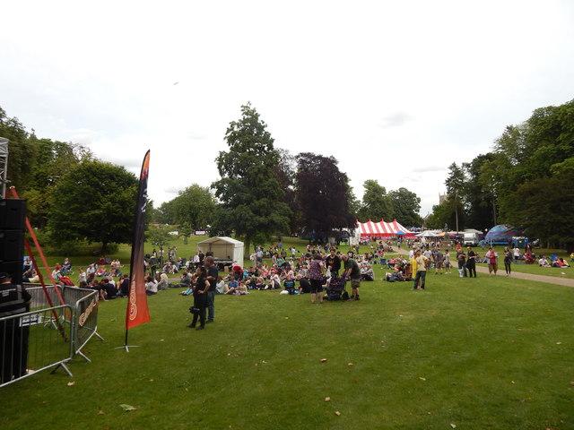 Christchurch Park music day 2014