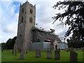 TF7319 : St Nicholas' church, Gayton (1) by Bikeboy