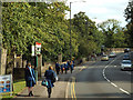 SP2864 : Girls from King's High School make their way home, Banbury Road, Warwick by Robin Stott