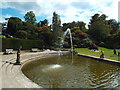 TQ4745 : Pond and fountain, Hever Castle by Malc McDonald