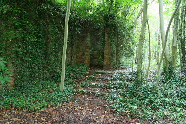 Ruins from Horsley Hall Pioneer Corps Camp