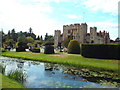TQ4745 : Hever Castle and moat by Malc McDonald