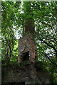 SJ3654 : Chimney stack at Horsley Hall by Andy Davis