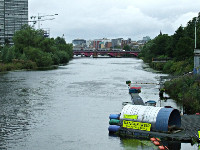 The River Clyde at Glasgow Green