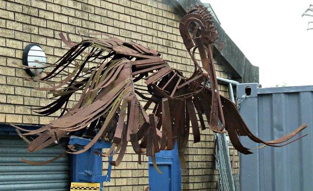 Glasgow Humane Society sculpture