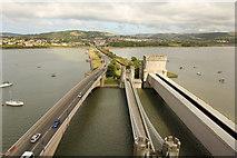 SH7877 : Three bridges by Richard Croft