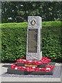NU1908 : Shilbottle War Memorial by Graham Robson