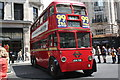 TQ2980 : London:  a trolleybus on Regent Street by Dr Neil Clifton