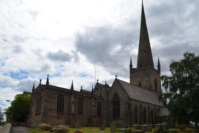 St Mary the Virgin church, Ross on Wye