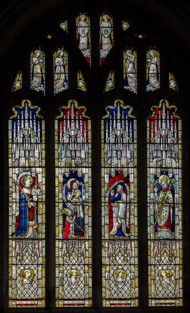 East Window, St Mary's church, Ross on Wye