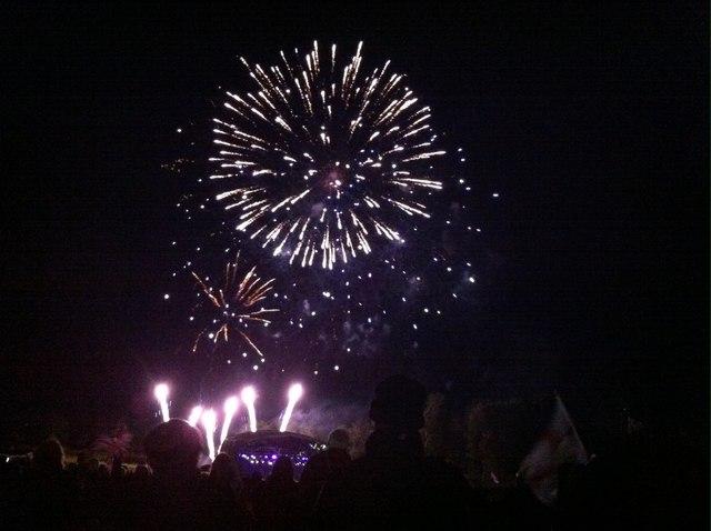 Fireworks at Castle Howard Proms Spectacular 2014