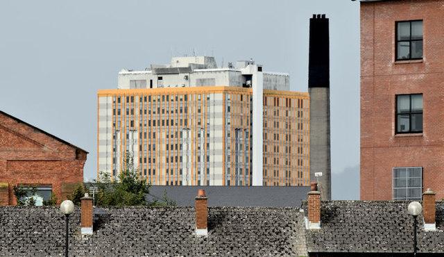 The City Hospital, Belfast (August 2014)