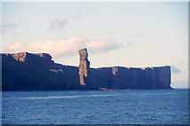 HY1700 : Old Man of Hoy from the sea by Mike Pennington