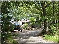 NY5345 : Shacks near Ruckcroft by Oliver Dixon