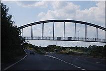 TL4761 : Cycleway Bridge, A14 by N Chadwick