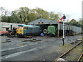 SX0766 : Bodmin & Wenford Railway - engine shed by Chris Allen