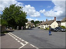 ST1004 : Thatched houses in Broadhembury by David Smith