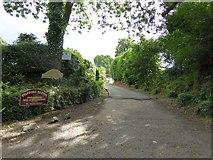 ST1005 : Entrance to Stafford Barton by David Smith