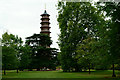 TQ1876 : The Pagoda, Kew Gardens by Peter Trimming