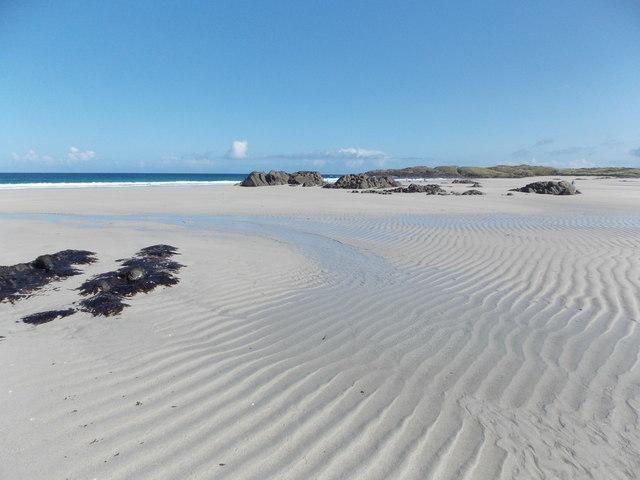 Balevullin: ripples in the sand