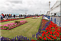 TV6198 : Seafront Gardens, Eastbourne, Sussex by Christine Matthews
