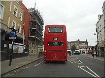 TQ3296 : W8 bus on Silver Street, Enfield by David Howard