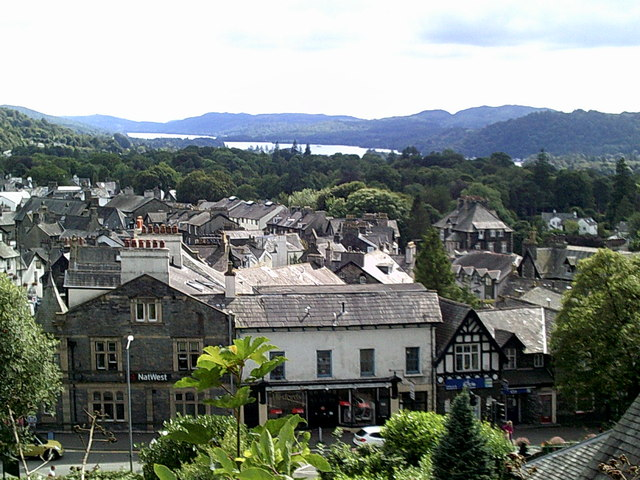 Roof tops of Windermere