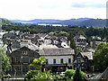 SD4198 : Roof tops of Windermere by Peter S