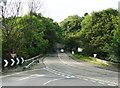 SJ2937 : The B5070, formerly the A5, looking from England into Wales by Humphrey Bolton