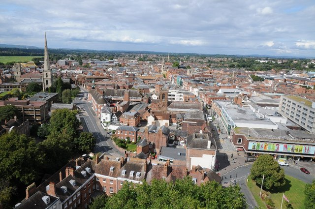The city of Worcester
