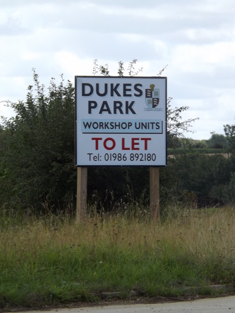 Dukes Park to let sign