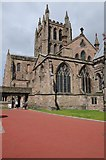 SO5139 : Hereford Cathedral by Philip Halling