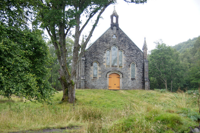 Old church at Fasnakyle