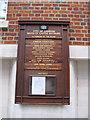 TQ3281 : List of Aldermen and Councillors by Stephen Craven