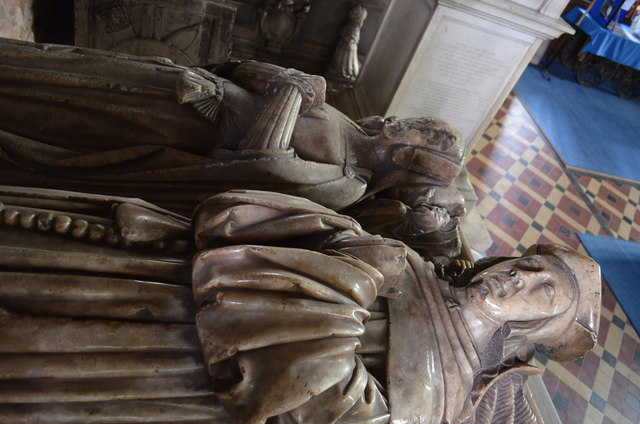 Effigies of William and Anne Rudhale, St Mary's church, Ross on Wye