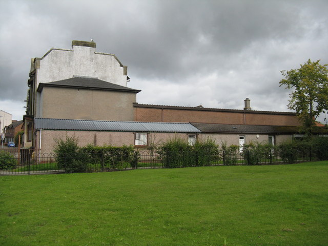 Drill hall, Fauldhouse