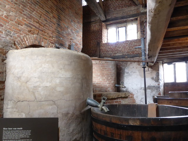 Charlecote Park - brewhouse