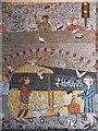 SX9191 : Part of the mosaic mural under Exeter St Thomas station by David Smith