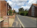 TM3389 : B1435 Wharton Street, Bungay by Adrian Cable