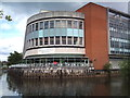 SU9949 : Debenhams by the River Wey in Guildford by Jonathan Hutchins
