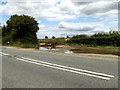 TM0636 : Track/Field entrance off the B1070 Hadleigh Road by Adrian Cable