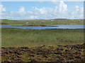 NF8373 : Rushes by Loch nan Geireann by John Allan