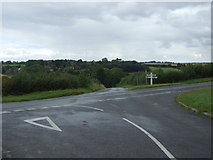 SP8899 : Minor road junction near Bisbrooke by JThomas