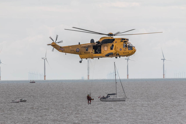 Mission Accomplished, Sea King Helicopter, Clacton, Essex