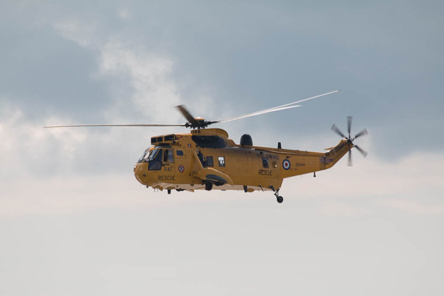 Sea King Helicopter, Clacton, Essex